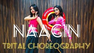 Naagin - Vayu, Aastha Gill, Akasa, Puri | Trital Choreography। Dance Cover