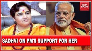 """""""PM Modi & I Are Victims Of Congress Smear Campaign"""" : Sadhvi Pragya thumbnail"""