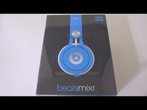 First Look Beats Mixr Neon Blue Unboxing