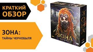Зона: Тайны Чернобыля — краткий обзор настольной игры 🌌🛸