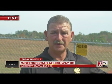 """Woman found """"chained like a dog"""" in container in Woodruff"""