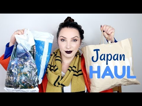 Japan Haul Japanese Makeup Skincare And Other Bits And Pieces