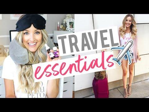 MY TRAVEL ESSENTIALS | How I Sleep on OVERNIGHT Flights!
