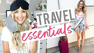 MY TRAVEL ESSENTIALS | How I Sleep on OVERNIGHT Flights!