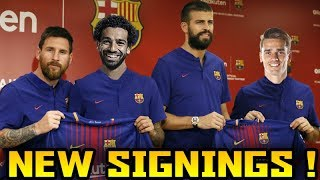 ... this video features a list of top 10 players whom fc barcelona could po...