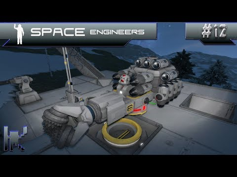 Let's Play Space Engineers - Episode 12: Making A Small Driller & Planning A Base Relocation