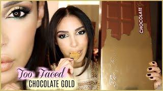 GOLD MAKE UP & 1ères impressions sur la palette CHOCOLATE GOLD