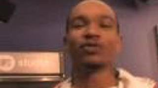 Slick Rick, Lil Ken, Rapid Ric backstage at MTV studios NYC