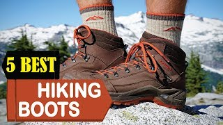 5 Best Hiking Boots 2018 | Best Hiking Boots Reviews | Top 5 Hiking Boots
