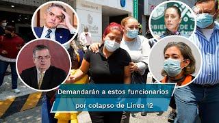 La madre del menor fallecido acusó que existe una corresponsabilidad de las autoridades capitalinas quienes no dieron mantenimiento a la Línea 12