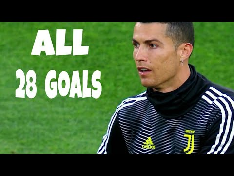 Download Cristiano Ronaldo  All 28 goals for  JUVENTUS   2018 -19  with commentary