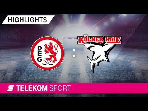 Düsseldorfer EG – Kölner Haie   12. Spieltag, 18/19   Telekom Sport