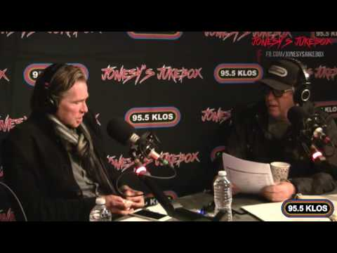 Val Kilmer instudio on Jonesy's Jukebox