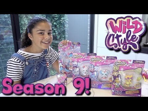 Download Youtube: Shopkins Season 9 (Wild Style) and All New Pikmi Pops PushMi Ups!   Grace's Room