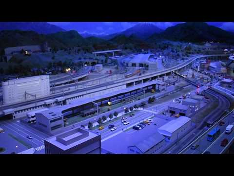 Nagoya, Japan - SCMaglev and Railway Park Diorama HD (2017)