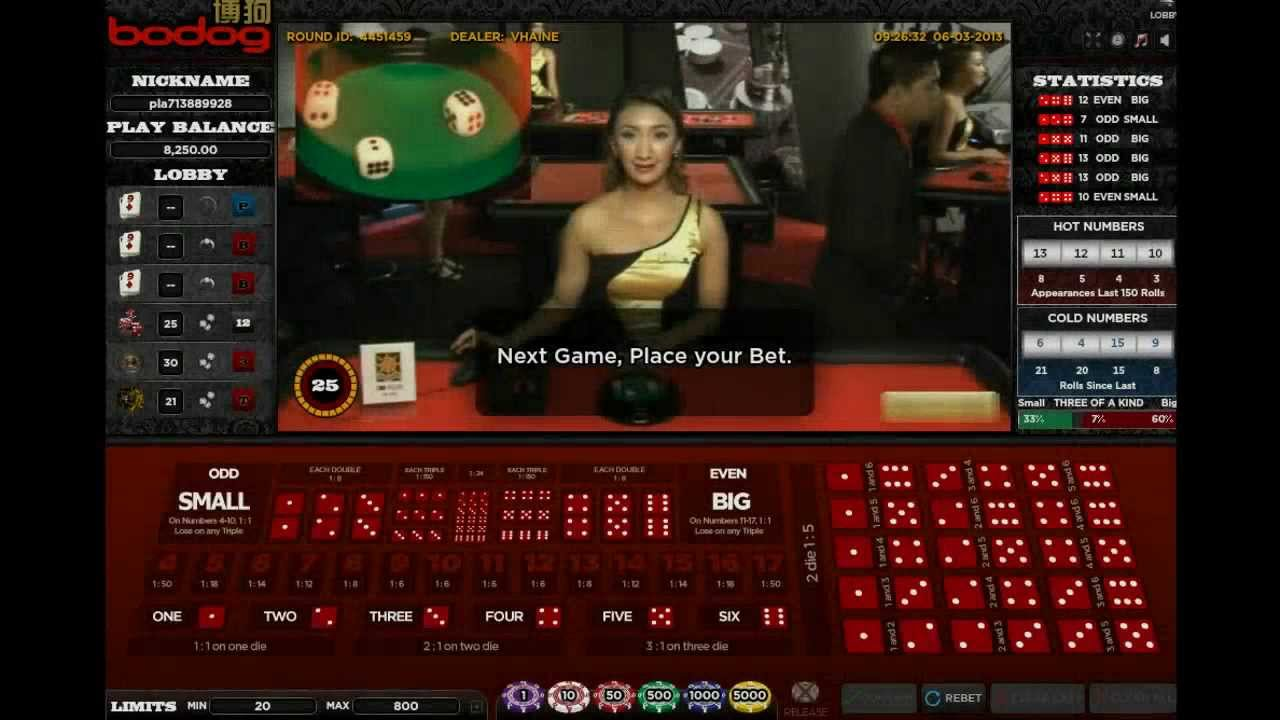 grand casino online sic bo