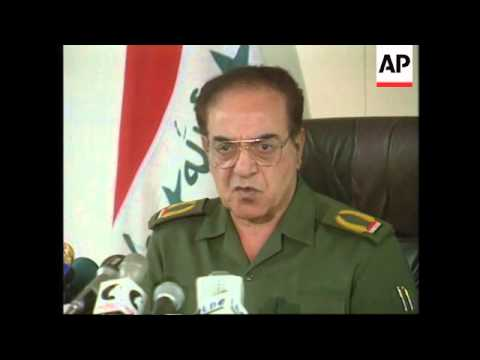 IRAQ: BAGHDAD: PREPARATIONS FOR POSSIBLE CONFLICT WITH US FORCES