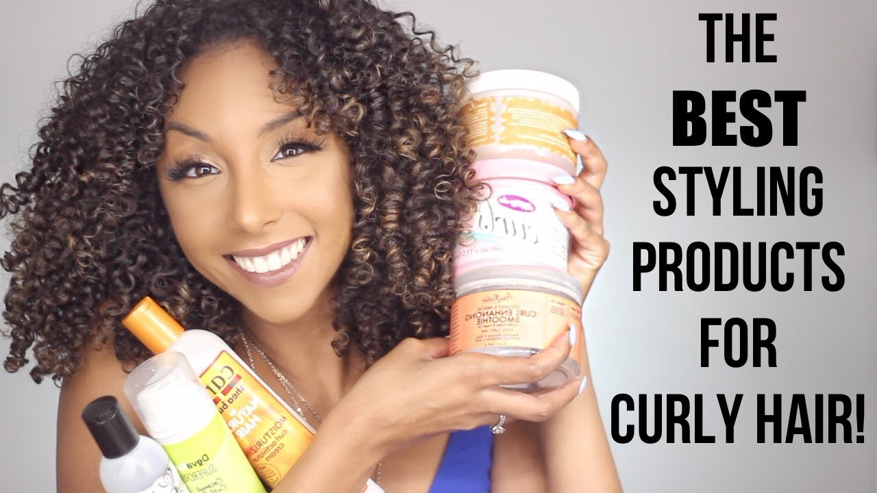 how to style curly hair with gel the best styling products for curly hair 3829 | maxresdefault