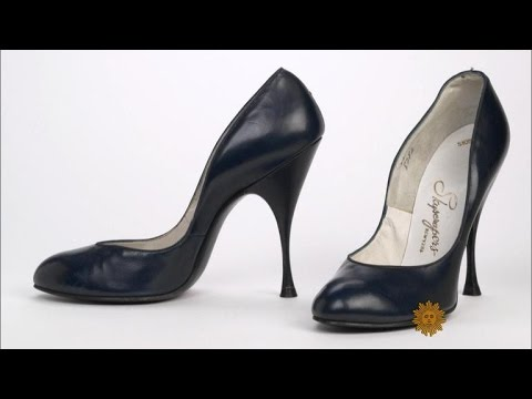 b96d5583ba43 Why do women wear high heels? - YouTube