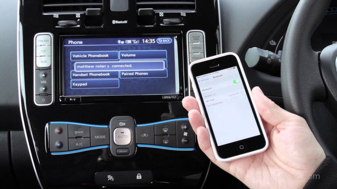 how to pair your bluetooth device nissan connect bluetooth pairing rh youtube com