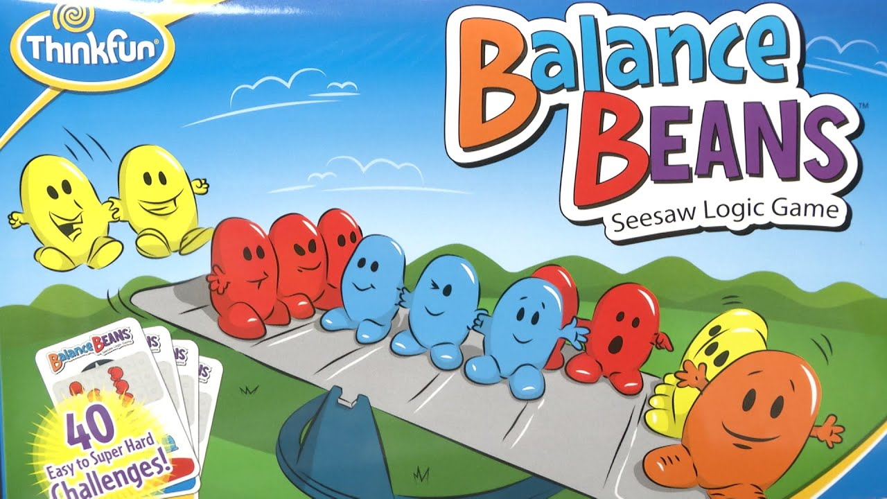 Balance Beans From Thinkfun Youtube