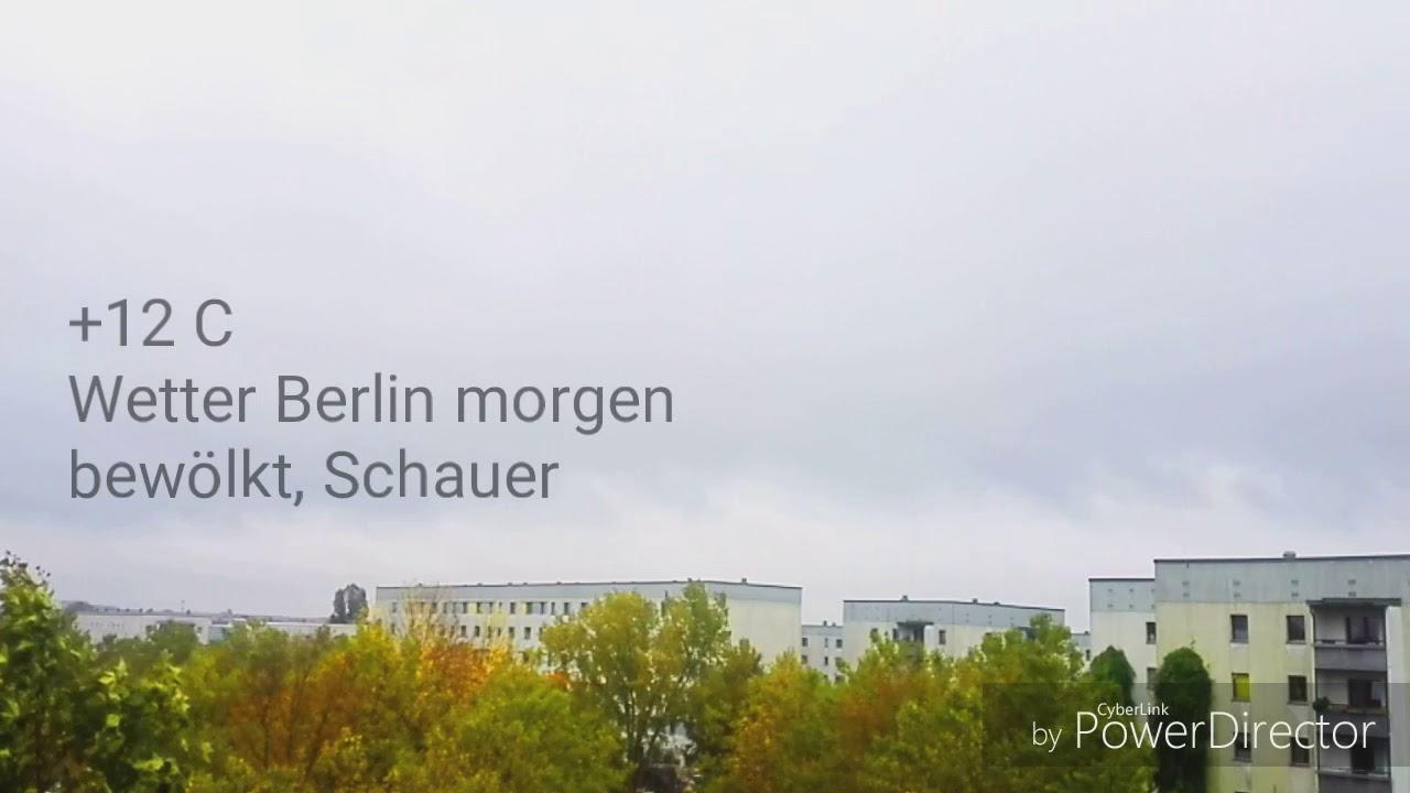 Wetter Berlin Morgen Youtube