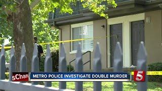 Metro Police Investigate Double Murder