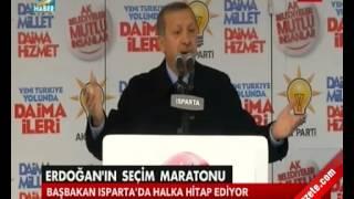 Başbakan Erdoğan'dan Fethullah Gülen'e Said Nursi Çıkışı... Isparta - 2 Mart 2014