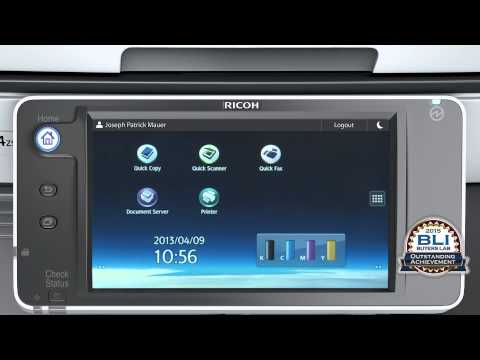 Step-up your Productivity with Ricoh's Smart Operation Panel