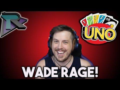 WADE RAGE! - UNO w/ Wade, Minx, & Dlive