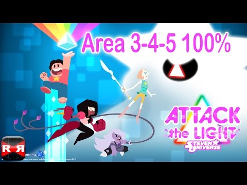 Attack The Light - Steven Universe Light RPG - Area 3-4-5 100% Completion - IOS / Android Gameplay