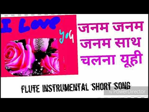Janam Janam- Dilwale//Shahrukh and Kajol//Arjit Singh//cover flute instrumental short song by nisha