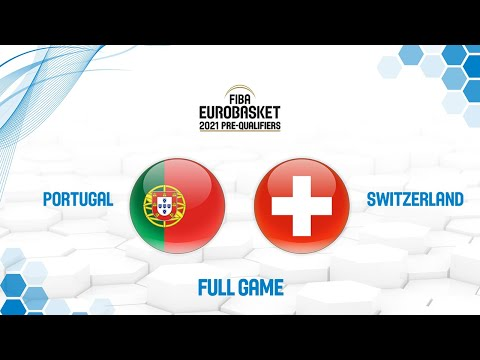 Portugal v Switzerland - Full Game - FIBA EuroBasket 2021 Pre