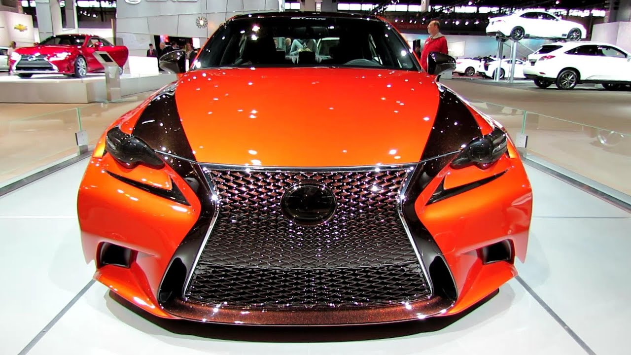 2014 lexus is250 f sport customized wide body exterior walkaround 2014 chicago auto show. Black Bedroom Furniture Sets. Home Design Ideas