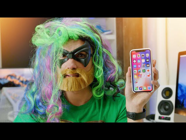 Trying to Trick iPhone X Face ID...
