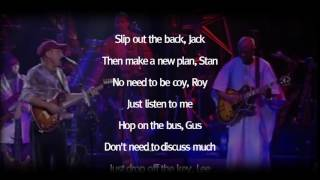 Paul Simon - 50 ways to leave your lover | Live | With Lyrics