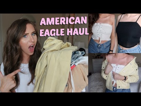 AMERICAN EAGLE SUMMER TRY ON HAUL | TANKS, SHORTS, SWIM & MORE!