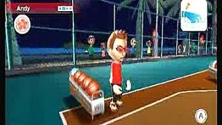 Wii Sports Resort. Competition: Round 3 - Basketball