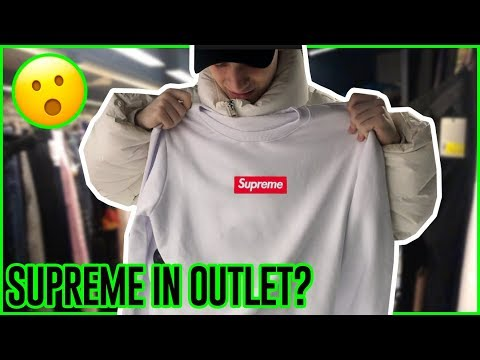 ho trovato SUPREME in SALDO in OUTLET?!?