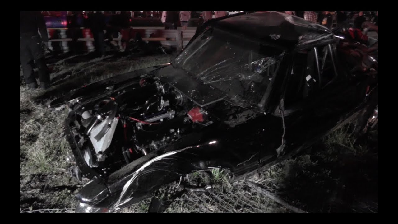 Mustang Has Horrible Wreck Insane Crash Youtube