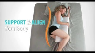 Hug Align. How to use the worlds best side sleeper body pillow