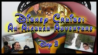 Disney Wonder Alaska Cruise Vacation Day 3: Tracy Arm and Sawyer Glacier