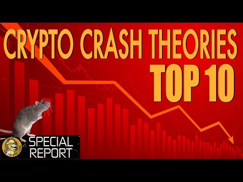 Why The Crypto & Bitcoin Price Market Crashed - Top 10 Reasons