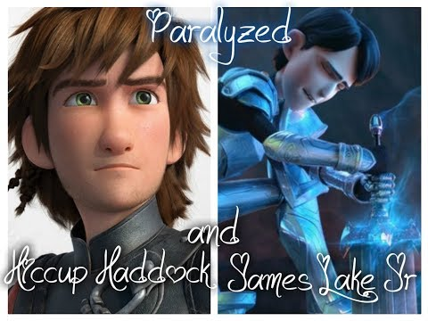 Paralyzed James Lake Jr and Hiccup Haddock