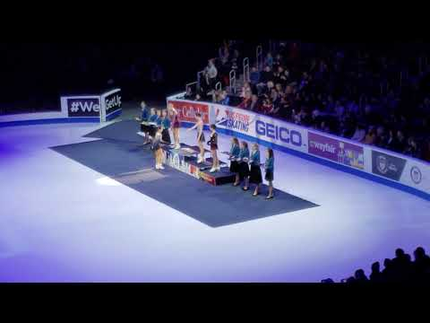 Ladies Victory Medal Ceremony 2019 Geico U.S. Figure Skating Championships