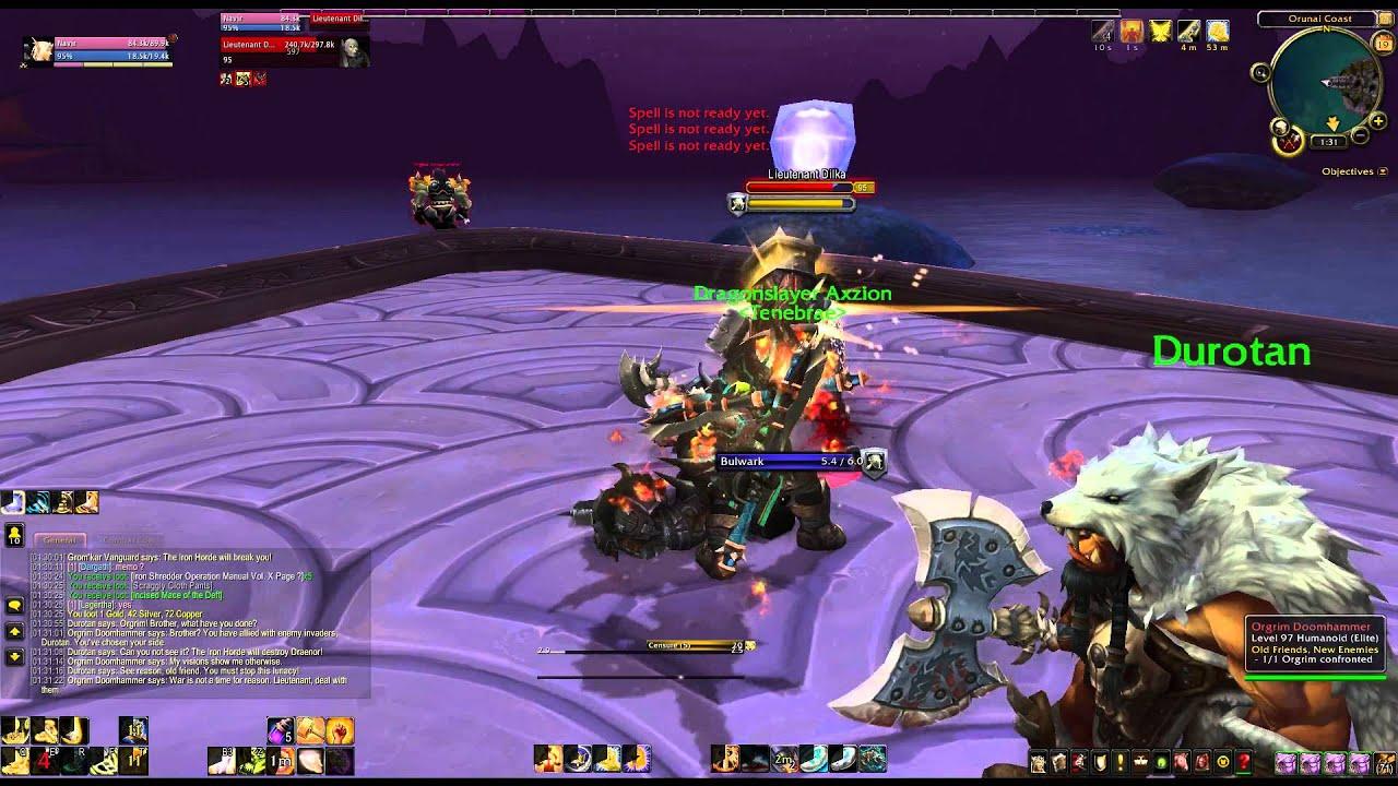 Orgrim doomhammer wod