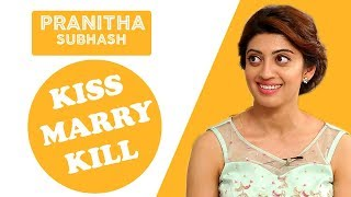"""Pranitha Subhash in """"KISS, MARRY,  KILL"""" 