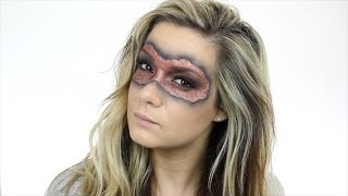 Easy Masquerade Mask Tutorial for Halloween | Fancy Dress | Shonagh Scott | ShowMe MakeUp