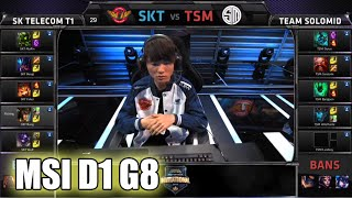 SK Telecom T1 vs TSM | MSI Group Stage Day 1 Mid Season Invitational 2015 | SKT vs TSM MSI 60FPS