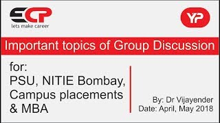Reservation good or bad, Group Discussion points (PSU, NITIE, MBA, Campus placement)